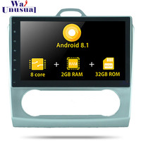 Autoradio 10.1 Inch Android 8.1 Car GPS Navigation For Ford Focus 2008 2009 2010 2011 Auto Multimedia Player With BT WIFI 2 din
