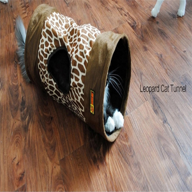 Funny Kitten Pet Cat Tunnel Products Supplies For Cat Tunnel Kitten Gatos Durable Interesting Pets Game Play Toys QQV617
