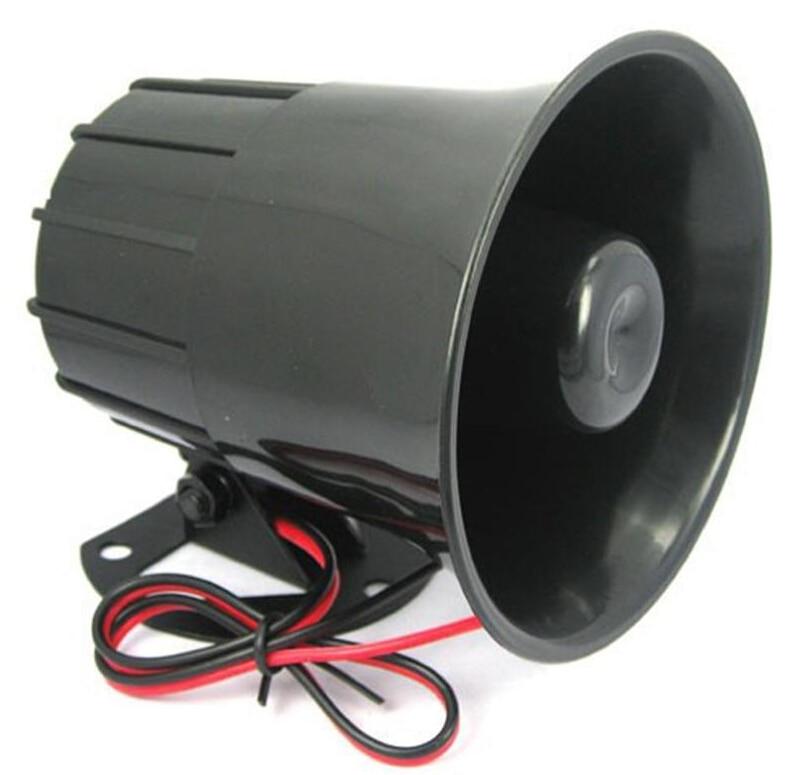 YiiSPO Hotselling DC 12 V Verdrahtete Lauter Alarm Sirene Horn Außen für Home Security Protection System alarmanlagen