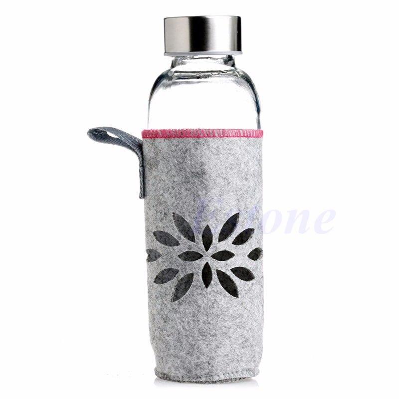 400 ml Deporte Botella de Agua Con Aislamiento Bolsa de Transporte Caso de la Cu