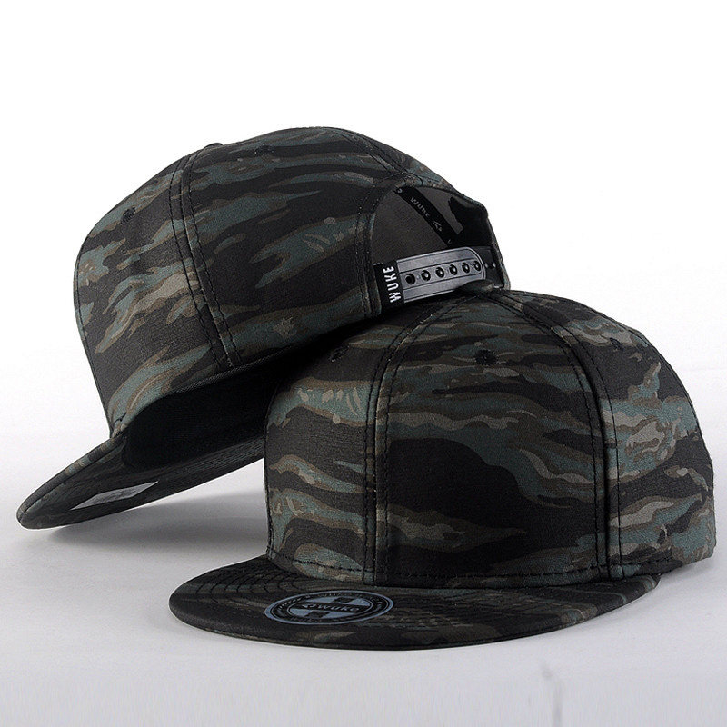 NEW Brand Quality Hip Hop Hats Spring Summer Men Women   Baseball     Cap   Camouflage Snapback Bone High-Grade Cotton Sunscreen   Cap