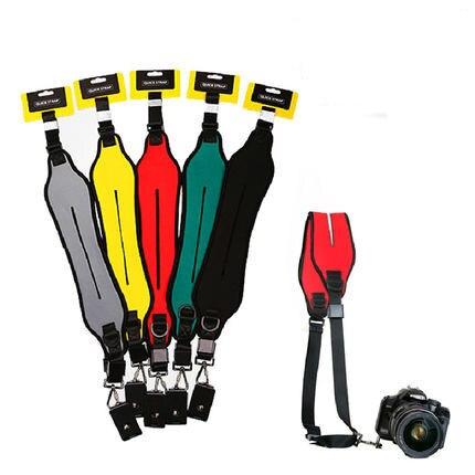 Quick Neck Shoulder Strap Camera Single Shoulder Sling Belt Strap for SLR DSLR Canon Nikon Sony Cameras