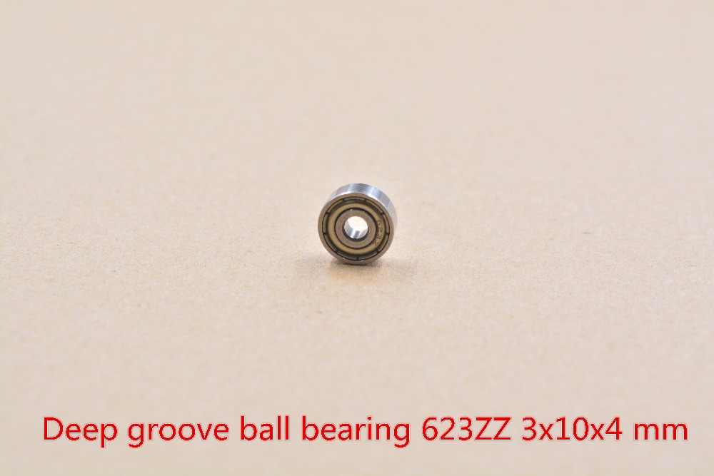 3mm lager V623ZZ 623ZZ F623ZZ 3mm x 10mm x 4mm F623 miniatur flansch rillenkugellager radial kugellager 1 stücke