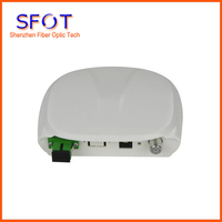 Mini Optische Empfänger/FTTH optische empfänger/CATV optical node  JFCOM OR19  Mini knoten|Glasfaser-Ausrüstungen|   -