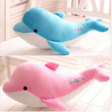 30-40cm High-quality goods dolphins pillow doll plush toys dolphins doll present lovers toys for childrens