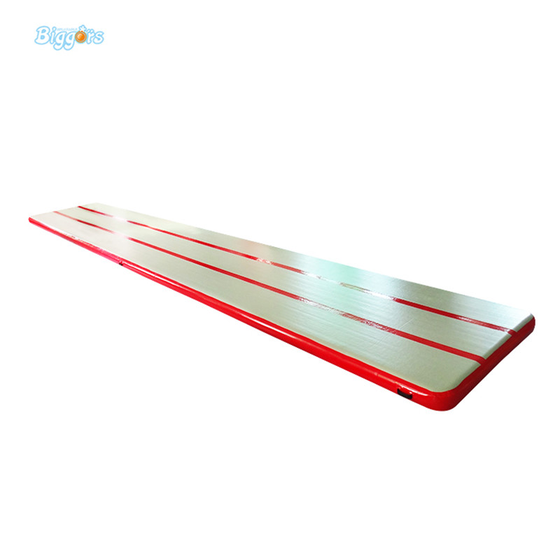 Factory Price Inflatable Gym Air Mat Air Tumble Track For Sale cheap price 4 1m gymnastics air track for sale air track tumble track outdoor games