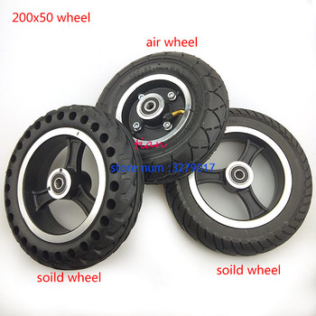 200x50 SOILD WHEEL FOR  Electric Scooter Tyre With Wheel Hub 8 Aluminium Alloy Vehicle