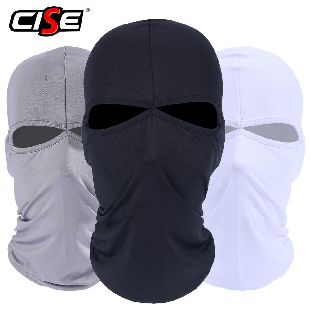 2 Hole Black Balaclava Lycra Full Face Mask Motorcycle Tactical Paintball Airsoft Army Military Bicycle Helmet Liner Protection full face lycra protection balaclava headwear neck cycling motorcycle mask