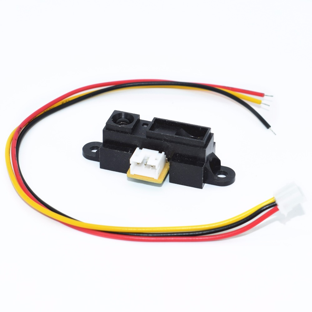 10pcs IR Sensor GP2Y0A21YK0F Measuring Detecting Distance Sensor 10 to 80cm with Cable