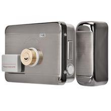 цена на 12V Electronic Access Intelligent Door Lock Remote Control System ID Double Head cerradura smart door lock