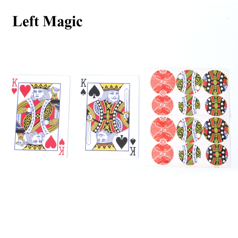 Phase Shift Card Magic Tricks Cards Close Up Magic Props Gimmick Stage Mentalism Street Comedy Magic Toys