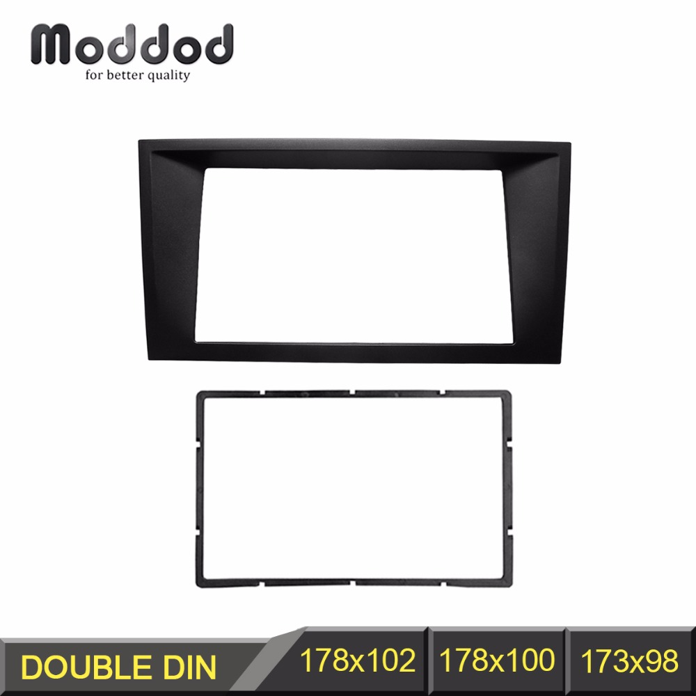 Double Din Fascia For FORD Mondeo 2002-2006 CD Facia Stereo Panel Dash Mount Install Trim Kit Refit Frame