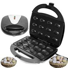 купить Toaster Electric Grill Baking Machine Household Floating Nut Griddle Maker Durable Bakelite Case Stainless Steel Frying Pan по цене 622 рублей