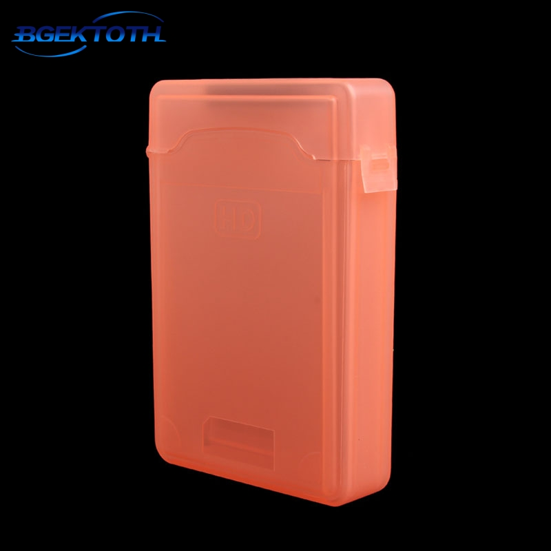 """High Quality 3.5"""" Dustproof Protection Box Case For SATA IDE HDD Hard Disk Drive Storage New Feb6"""