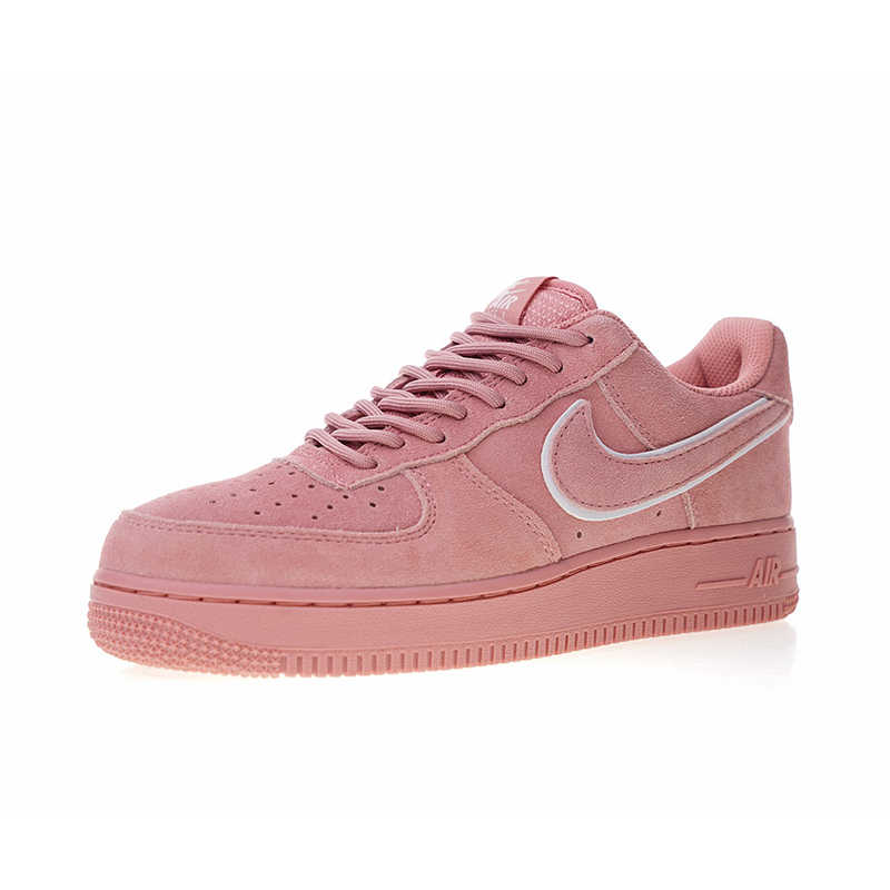 competitive price e8398 1813a ... Original Authentic Nike Air Force 1 07 LV8 Suede Women s Skateboarding  Shoes Sneakers Designer Athletic 2018 ...