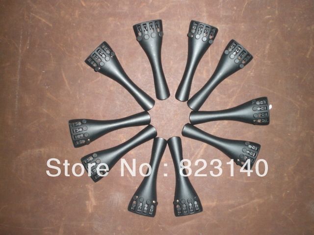 50 PCs of Aluminum Alloy Violin Tailpiece 3/4 size, Violin tail piece 25 pcs violin tailpiece ebony tail piece 4 4