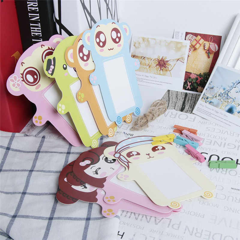 Cartoon Hanging Style DIY Mini Picture Frame A Great Gadget That Shows Photos Also Can Be Used To Decorate The Wall Or Home