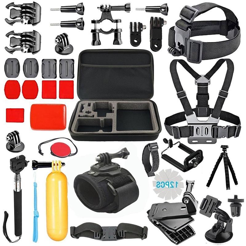 купить Tekcam for Go pro Accessories for Gopro hero 7 hero6/5/4 hero session Action Camera Accessories for xiaomi yi 4k plus SJ4000 по цене 2165.28 рублей