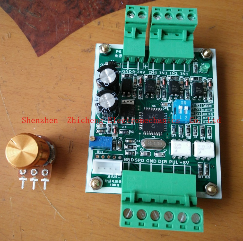 Stepper Motor Controller For Single Axis Pulse Generator Circuit Driver Of The Reciprocating Movement