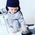 Хлопчатобумажные Трикотажные Ползунки Весна Baby Born Толстовка Брендов Одежды Новорожденных Зимние Комбинезоны Infantil Onesie Pijamas Дети Осень
