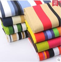 Nabi Canvas Sofa Fabric Simple Cotton Color Striped Curtains Floral Tablecloth Pillow Old Coarse Cloth Pastoral