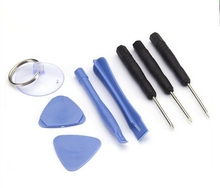 1000 (8000 pz) 8 en 1 riparazione de la palanca de apertura kit de herramientas Con 5 punti stelle pentalobe cacciavite torx por apple iphone 4 4 s