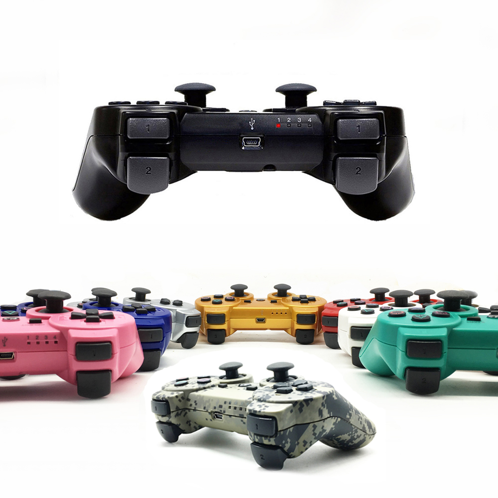 2 4GHz Wireless Gamepad Joystick Game Controller For PS3 Controller Dual Vibration Joystick Gamepad For Playstation
