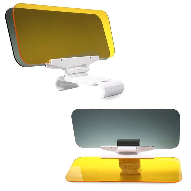 HD Car Sun Visor Goggles for Driver Day & Night Anti-dazzle Mirror Sun Visors Clear View Dazzling Goggles Interior Accessories