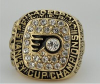 Free Shipping 1975 Philadelphia Flyer Hockey Stanley Cup Championship Rings Size 11