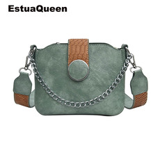 все цены на The New Retro Women bag Doctor Fashion Mobile Messenger Shoulder Clutch Mini Chain Bags Luxury Design Rock Style Cross Body Bags онлайн