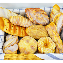 Festive Party Supplies Artificial Decorations Foods Soft PU Simulation Big Cake Bread Model Fake Display Props