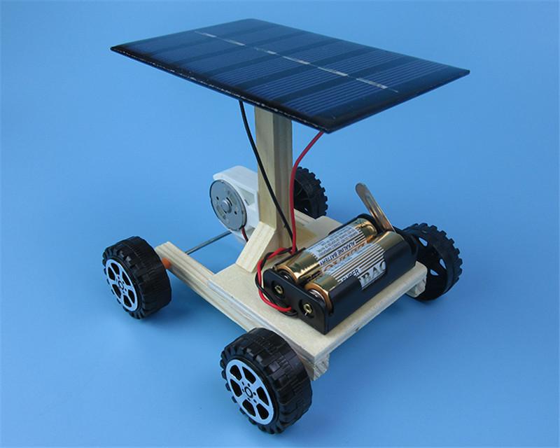 HTB1rQnHbaagSKJjy0Fhq6ArbFXaQ - DIY Hand Assembling solar electrical energy generation  combination driven vehicle car Physics technology gizmo