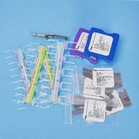Moldagem de peças terno formação pílulas imprensado entre os dentes cunha dental dental materiais de enchimento