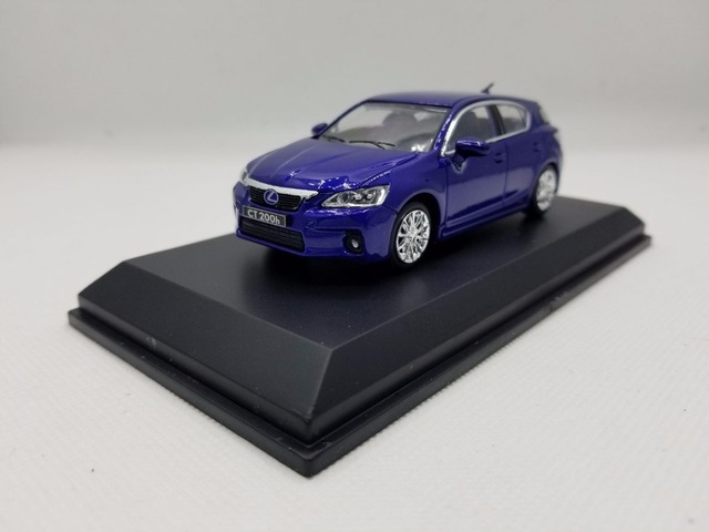 1 43 Cast Model For Lexus Ct200h Blue Alloy Toy Car Miniature Collection Gifts Ct