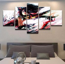 Paintings on Canvas Wall Art for Home Decorations Decor Anime 5 Piece Modern Picture Artwork