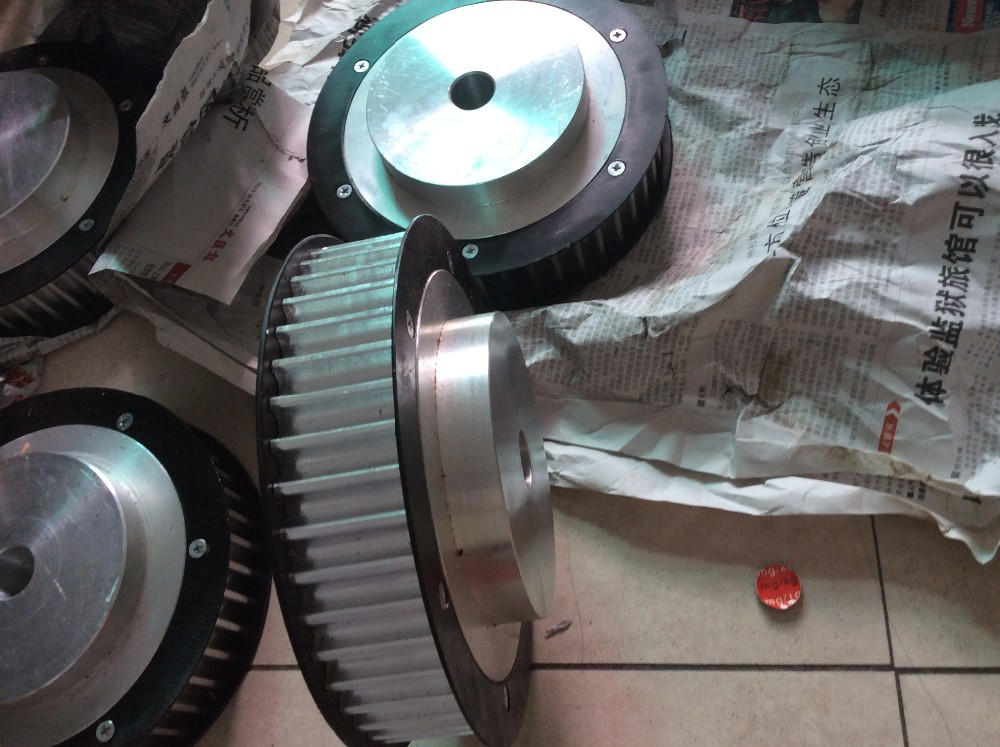 цена CNC machinery part HTD14M transmission pulley