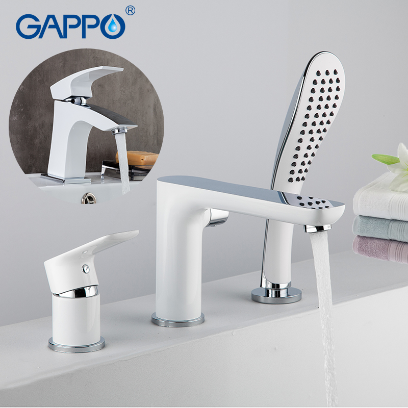 GAPPO waterfall Faucets shower taps bathtub mixer shower faucet shower waterfall faucet Sanitary Ware Suite