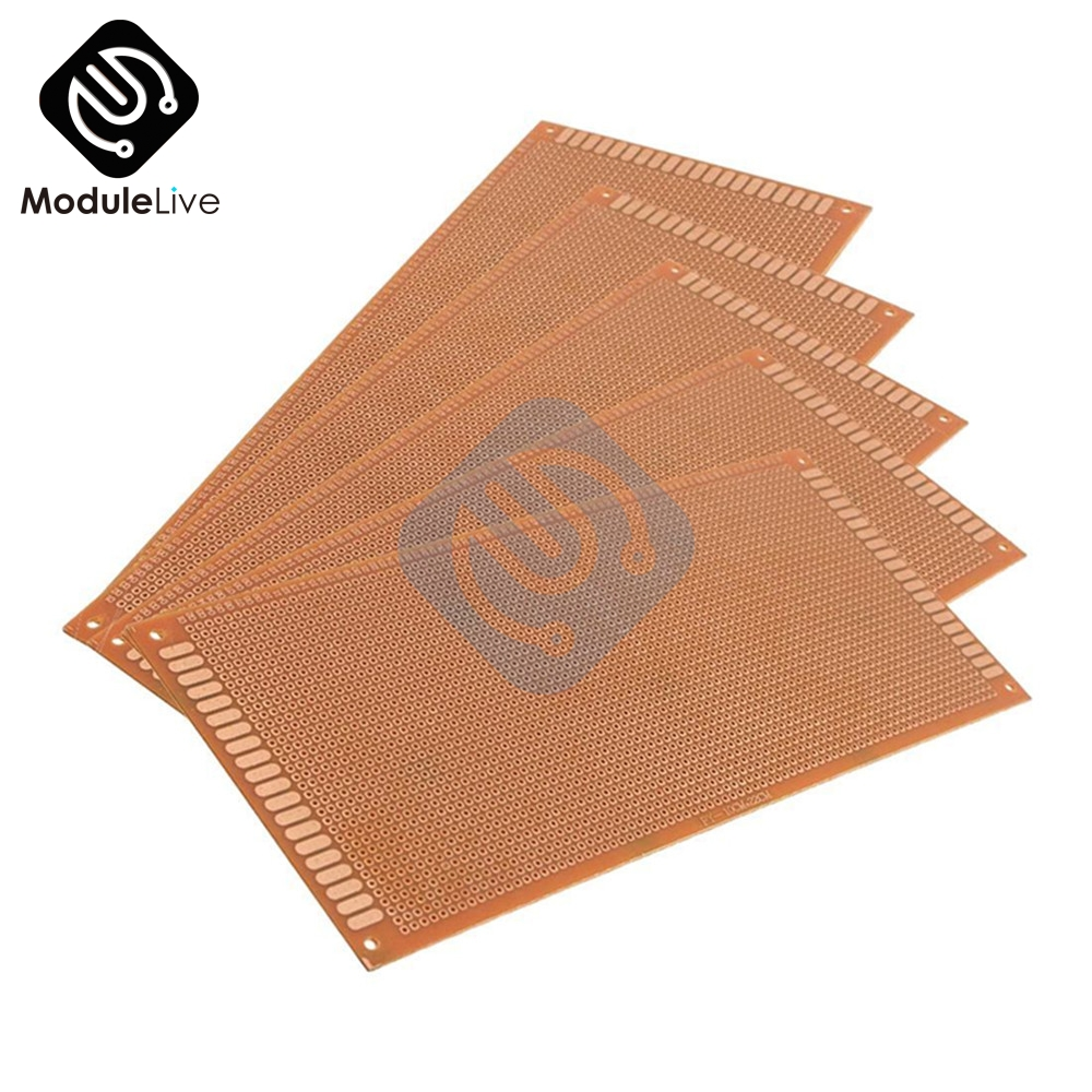 9x15 9 15cm Single Side Prototype Pcb Universal Board Experimental 10 Pcs 50mmx70mm Copper Cover Circuit Stripboard 5pcs 10x22cm 1022cm Diy Bakelite Plate Paper Experiment Matrix Sided Sheet 10x22