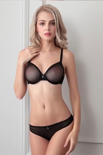 23006ab337e1 Super Sexy LACE Bras delgada señoras mujeres ropa interior ajustable ...