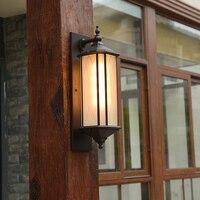 Современный открытый светильник настенный водонепроницаемый открытый китайский ворота сад двор ретро открытый настенный балкон передний