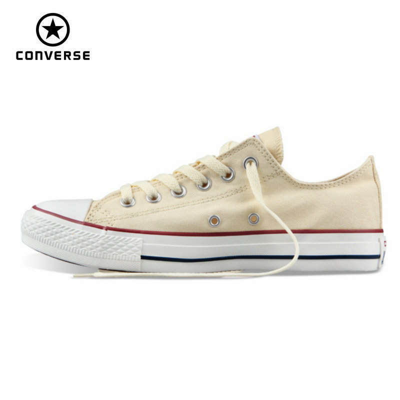 Original Converse all star men's and women's sneakers canvas shoes for men women low classic Skateboarding Shoes free shipping classic original converse all star men and women sneakers canvas shoes all black and beige low skateboarding shoes