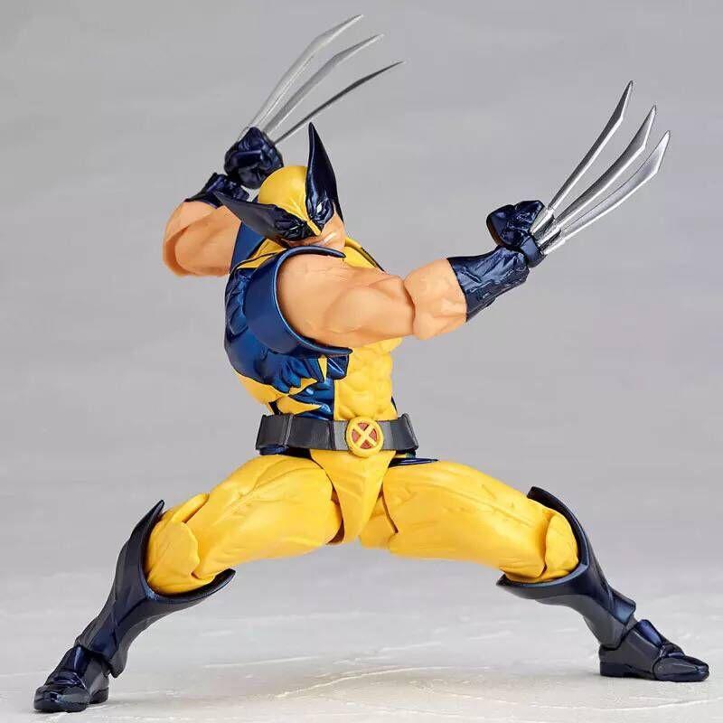 X-men Figure SCI-FI REVOLTECH Wolverine Logan Howlett 17CM PVC Action Figures Doll Toys miele g 1143 sci