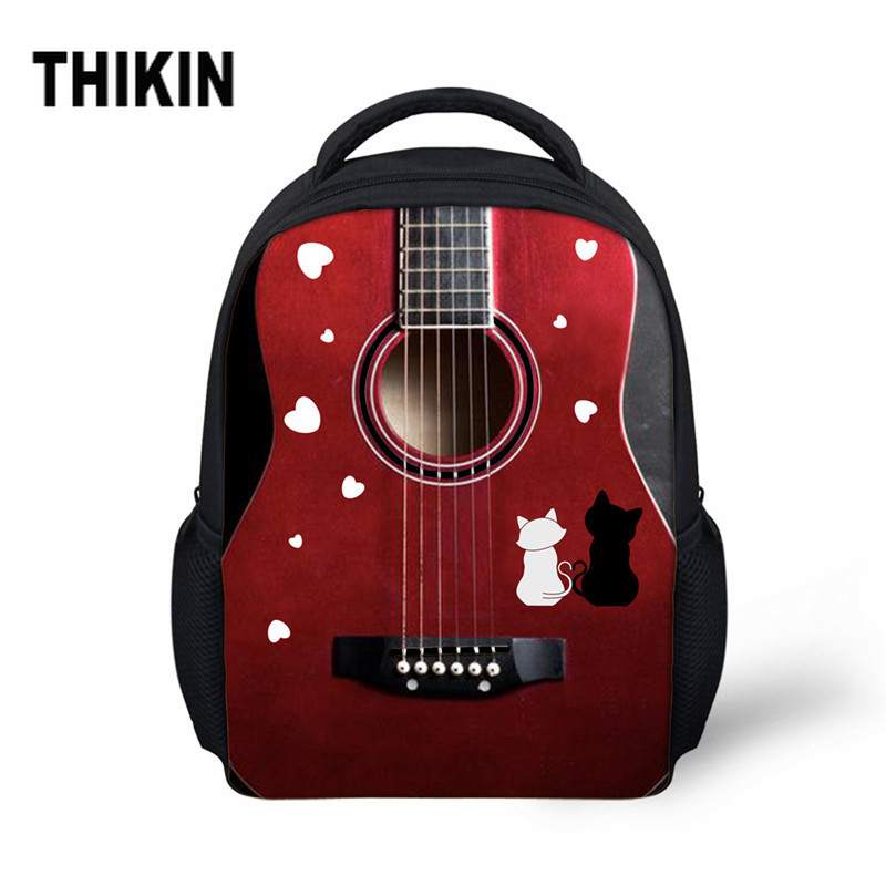 THIKIN Baby Kids School Bags Music/Camera Printing Preschool Boy Girl Mini Children Kindergarten Backpack Small Book Schoolbag(China)