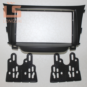 Image 3 - Double Din Car Radio Fascia for Hyundai I 30 I30 2011 2DIN Mount Kit Adapter Trim Facia Panel Frame Dashboard Panel