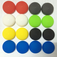 10 PCS Non-slip Thread Silicone Analog Thumbstick Joystick Grip Caps Cases for Doulshock 4 PS4 XBOX 360 PS3 Controller