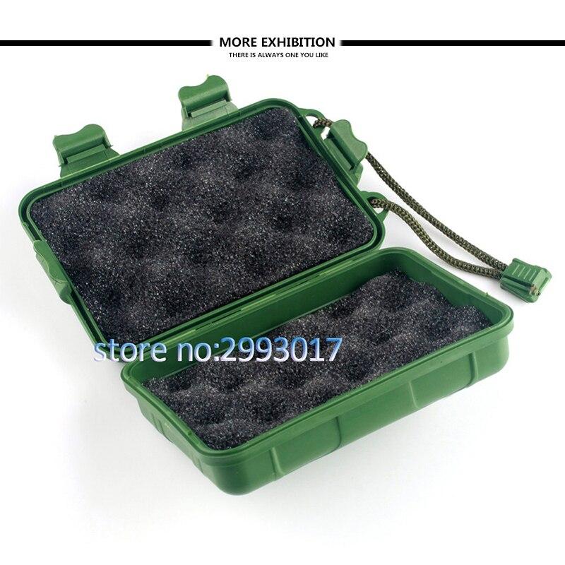 Accessories Archery Plastic Cover Box Broadhead Protector Portable Case Arrow Arrowhead W/ Foam Pad Without Return