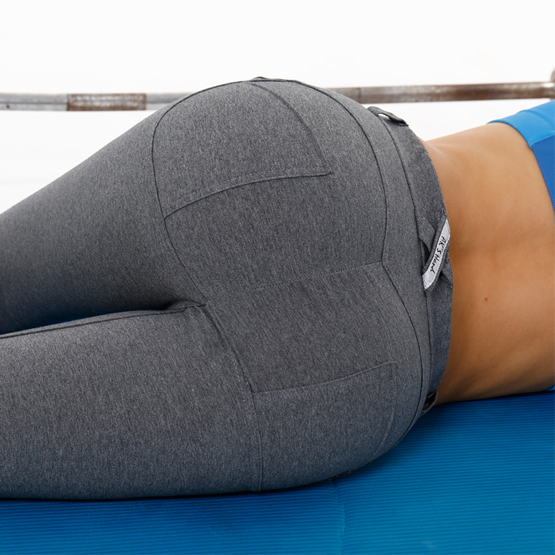 0be5384ff5 US $29.99 |AK's hand women yoga pants hip push up leggings exercise  sportswear grey yoga leggings most flattering yoga pants in stock -in Yoga  Pants ...
