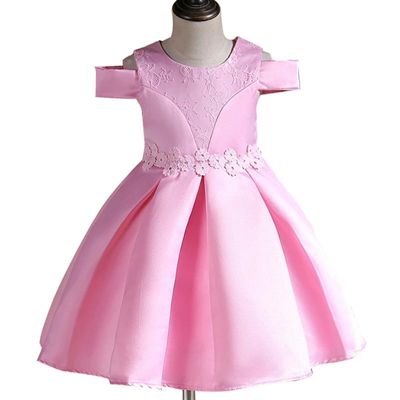Niñas princesa vestido de fiesta niños cumpleaños ropa verano bebé ...