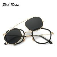 Multi Function Steampunk Round Sunglasses Metal Frame Unisex Composite Unique Sunglasses Men Luxury Brand With Case