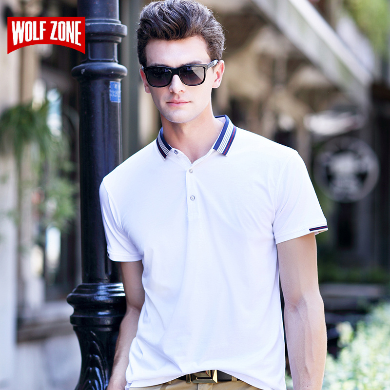 Top Fashion   Polo   Shirt Homme Ralphmen Summer Hot Sale Brand Clothing Men Shirts Breathable Cotton Short Fitness England Style